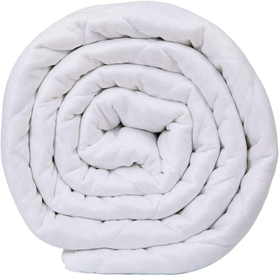 Queen/king size Weighted Blanket in White Knight 11kg