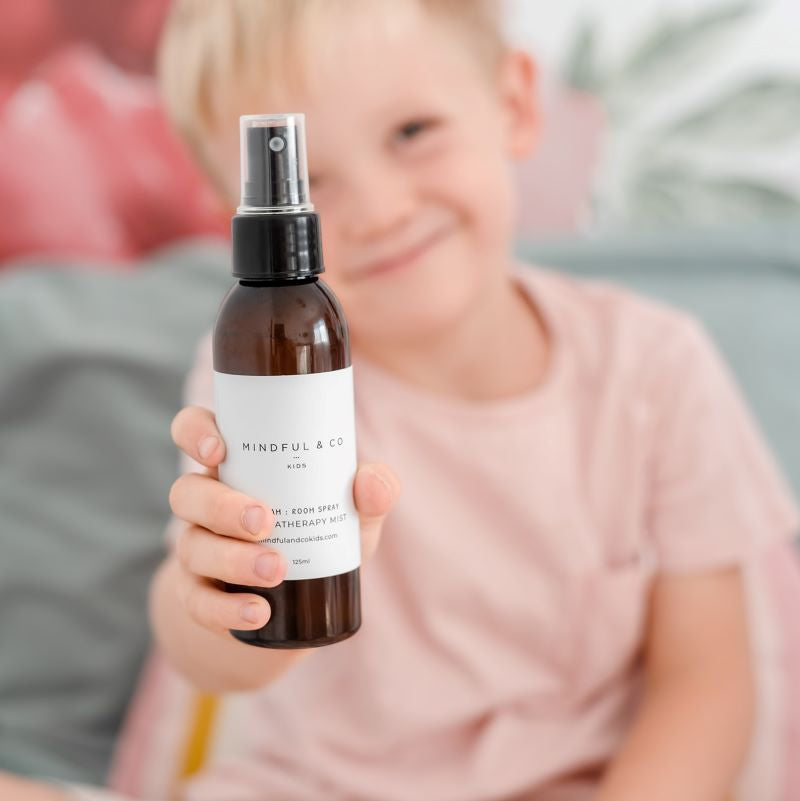 Mindful and co kids pillow spray