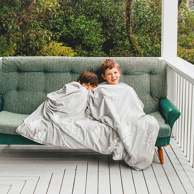 Weighted Blanket in Brainiac Grey