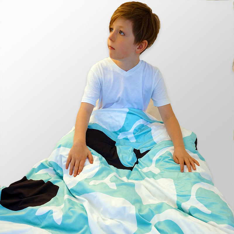 Weighted Blanket in Weighty Whale