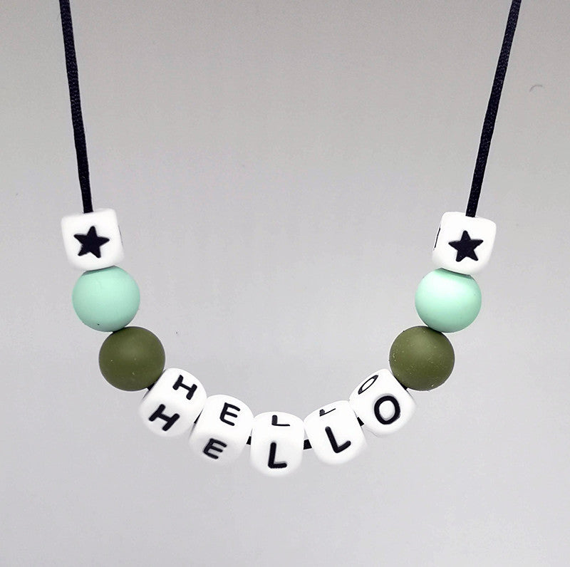 Chewie Necklace - Hello'Message'