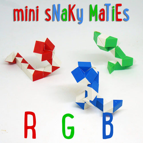 mini Snaky Maties cubes 3 Pack
