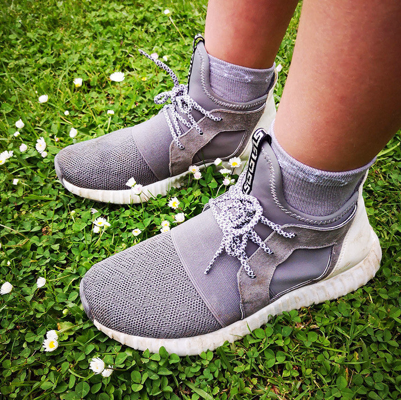 Sensory Sam Seamless Socks- Grey