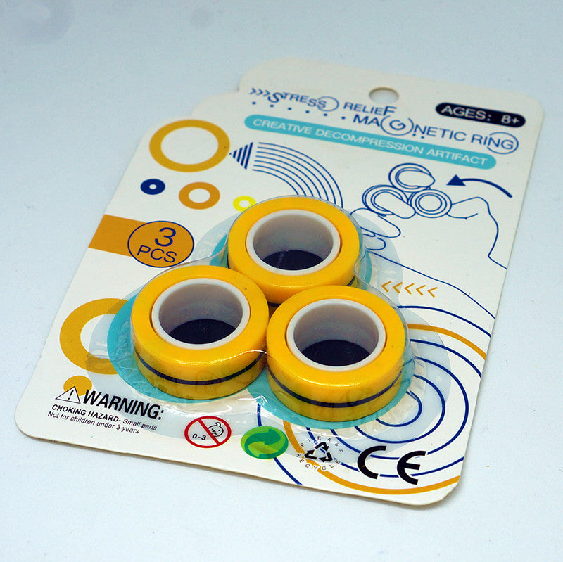 Magnetic Free-style Finger Rings