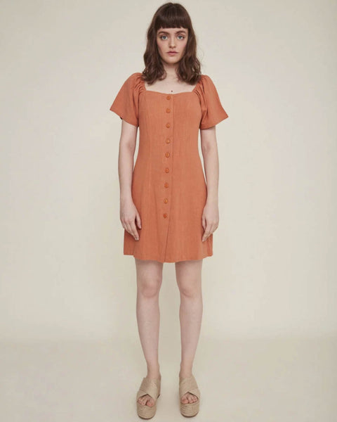 Sabina Dress - Clay