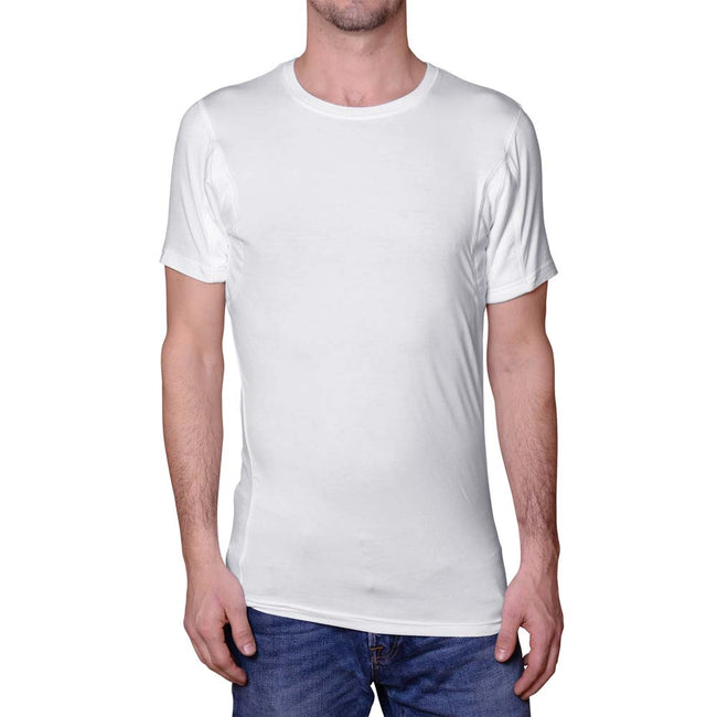 Men's Sweat Proof Undershirt (Crew Neck)