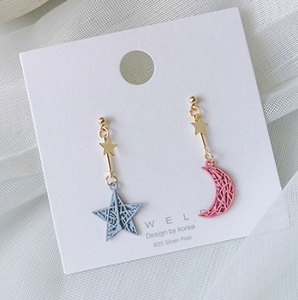 Aretes Star & Moon AA2