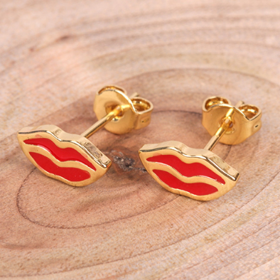 Aretes Red Lip MINI 70