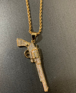 Gold Glock Necklace