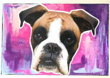 Load image into Gallery viewer, Boxer - Mixed Media