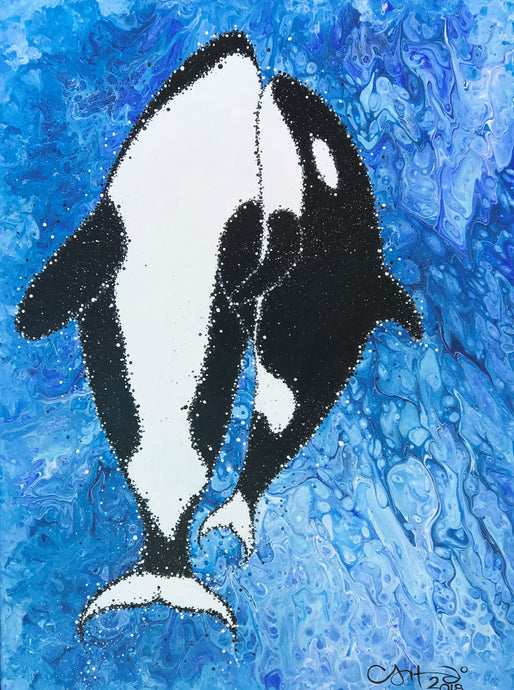 Plight of the Orcas - Original