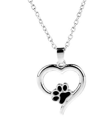 jaan-imports - Heat Paw Print Necklace - Khoobsurat Gift Shop - Necklace