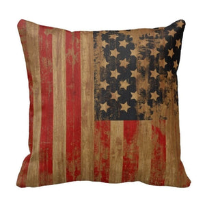jaan-imports - USA American Flag Pillow Cover - Khoobsurat Gift Shop - Pillow Cover
