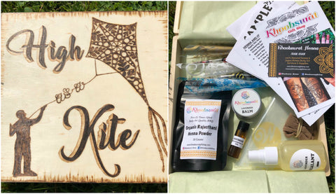DIY Henna Kit with High as a Kite Keepsake Box