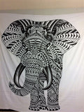 jaan-imports - Elephant Queen Tapestry (4 Style/Color Options) - Khoobsurat Gift Shop - Queen Tapestry