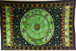 jaan-imports - Zodiac Twin tapestry- (4 Color Options) - Khoobsurat Gift Shop - Twin Tapestry