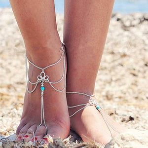 jaan-imports - Bohemian Anklet - Khoobsurat Gift Shop - Anklet