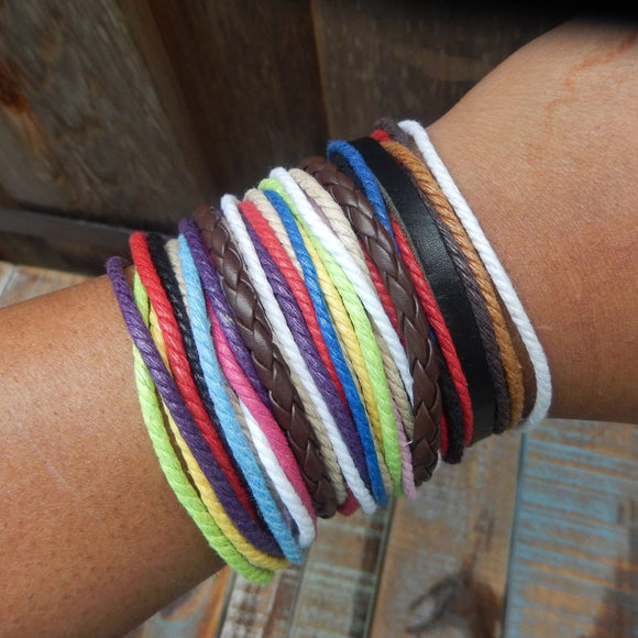 jaan-imports - Multi Layer Colorful Rope Bracelets (5 Styles) - Khoobsurat Gift Shop - Bracelet