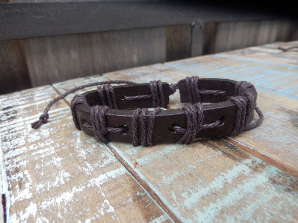jaan-imports - Brown Leather Bracelets - Khoobsurat Gift Shop - Bracelet