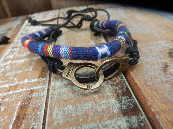 jaan-imports - Anchor and Freedom Cuff Bracelets (2 Styles) - Khoobsurat Gift Shop - Bracelet