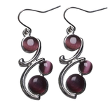 jaan-imports - Classic Swirl Earrings (3 Colors) - Khoobsurat Gift Shop - Earrings