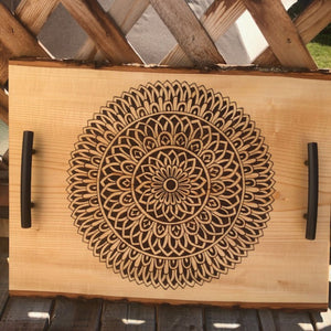 Serving Tray | Cheese Platter | Mandala