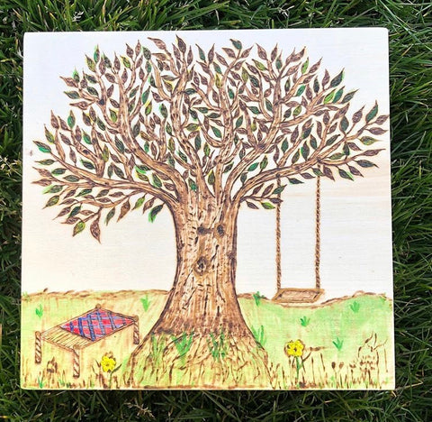 Tree of Life with Swing Keepsake Box