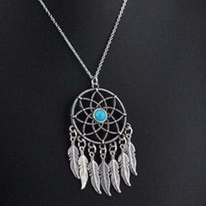 jaan-imports - Bohemian Dream Catcher Necklace - Khoobsurat Gift Shop - Necklace