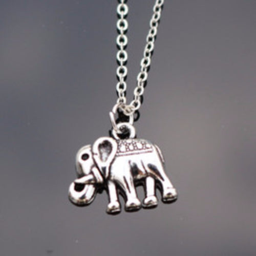 jaan-imports - Minimalist Mighty Elephant Necklace - Khoobsurat Gift Shop - Necklace