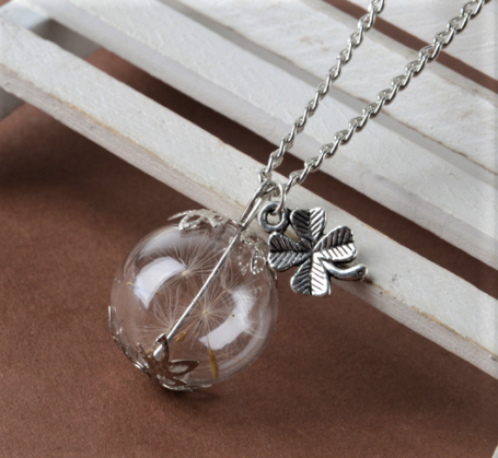 jaan-imports - Wish Dandelion Necklace (4 Styles) - Khoobsurat Gift Shop - Necklace