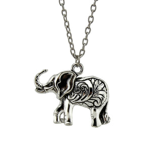 jaan-imports - Good Luck Elephant Necklace - Khoobsurat Gift Shop - Necklace
