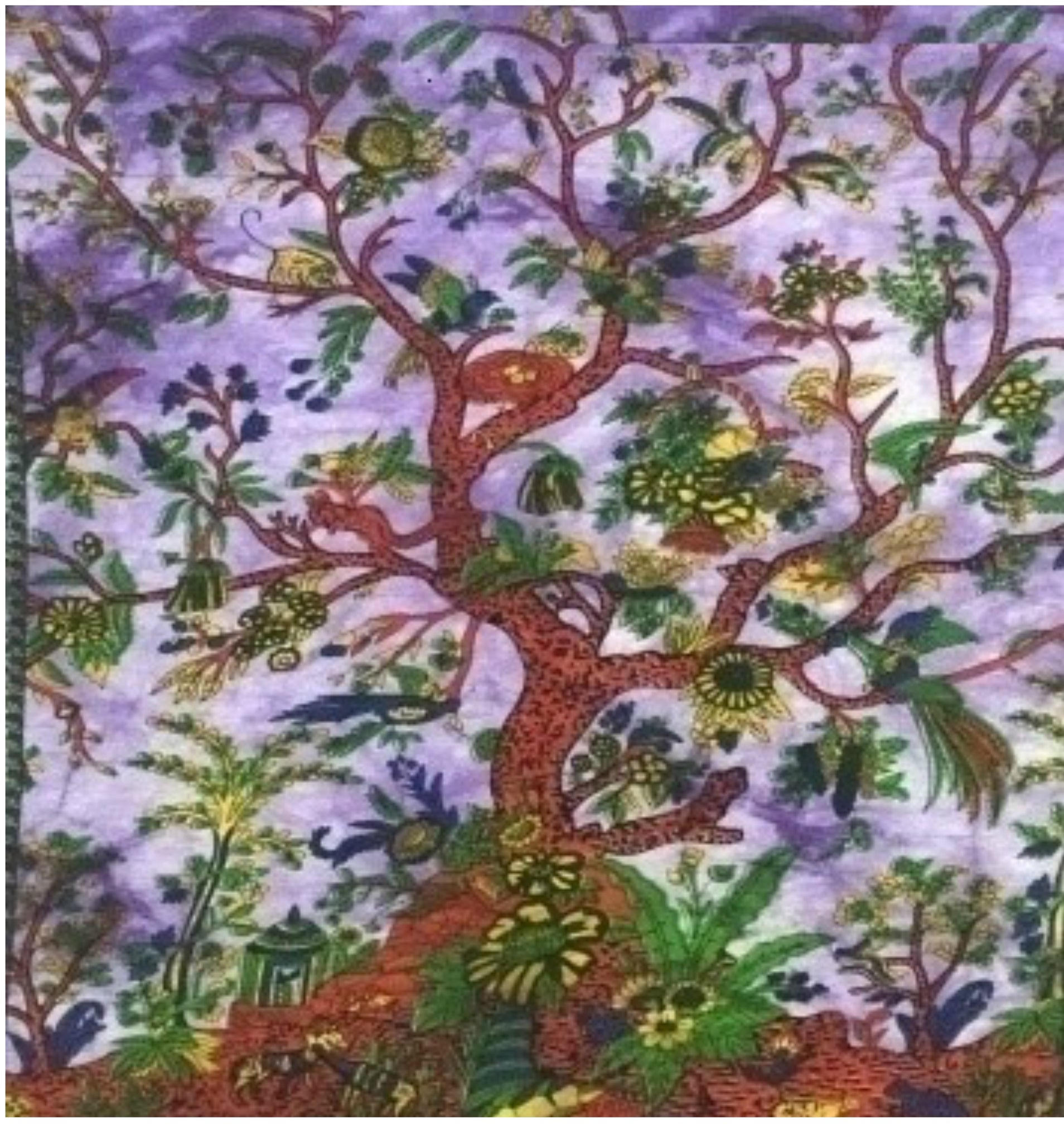 jaan-imports - Purple Tree Poster Tapestry - Khoobsurat Gift Shop - Poster Tapestry