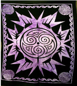jaan-imports - Purple Geometric Poster Tapestry - Khoobsurat Gift Shop - Poster Tapestry