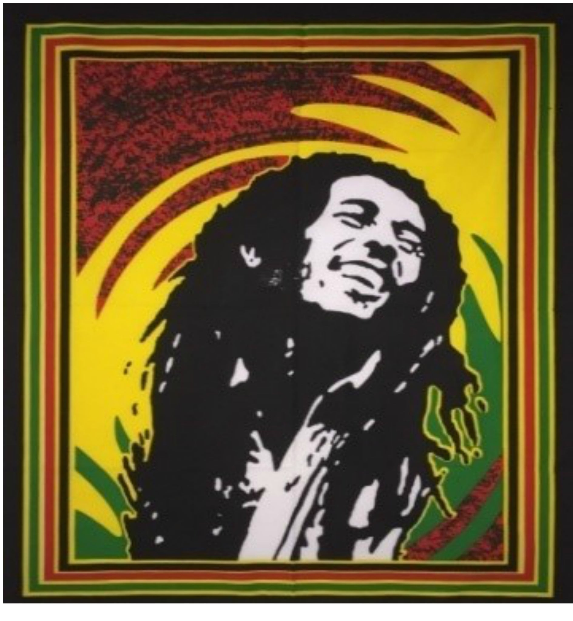 jaan-imports - Bob Marley Hippie Poster Tapestry - Khoobsurat Gift Shop - Poster Tapestry