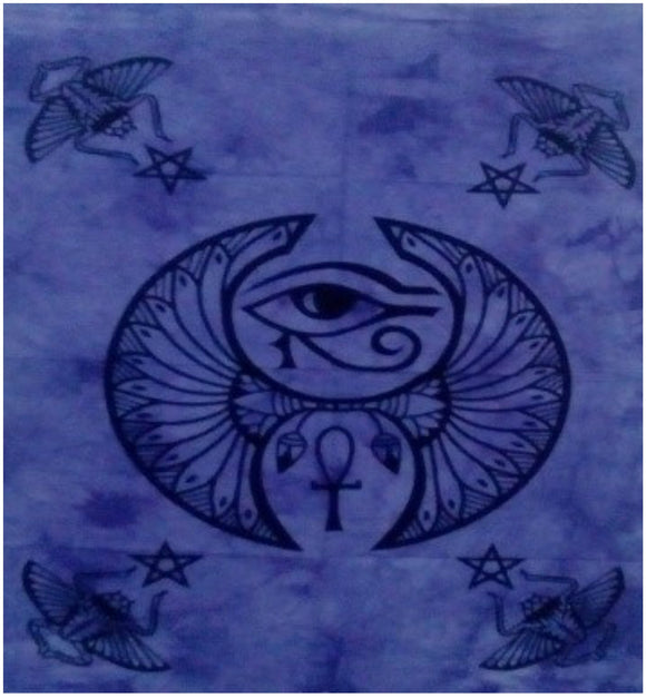 jaan-imports - Protective Eye Purple Color Poster Tapestry - Khoobsurat Gift Shop - Poster Tapestry
