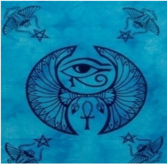 jaan-imports - Blue Color Protective Eye Poster Tapestry - Khoobsurat Gift Shop - Poster Tapestry