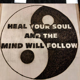 jaan-imports - Handmade Pyrography Art- Heal Your Mind by Healing Your Soul Quote - Khoobsurat Gift Shop - Pyro Art