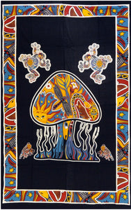 jaan-imports - Mushroom Twin Tapestry - Khoobsurat Gift Shop - Twin Tapestry