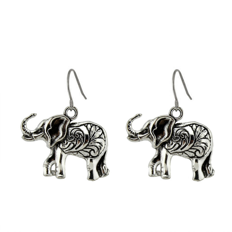 jaan-imports - Elephant Good Luck Earrings - Khoobsurat Gift Shop - Earrings