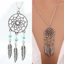 jaan-imports - Simple Dream Catcher Necklace - Khoobsurat Gift Shop - Necklace
