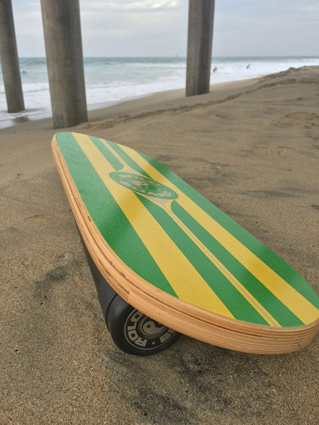 Original Rolo Balance Board Training Package Surf Green