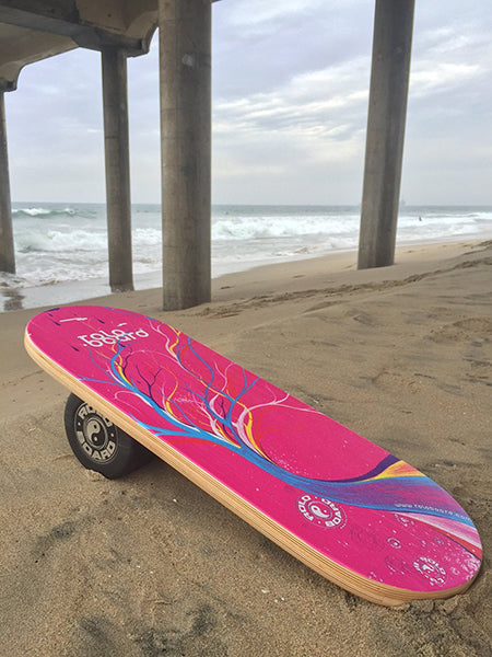 Pro Rolo Board Training Package Pink Bliss