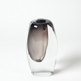 Offset Vase-Grey, Small
