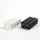 Braque Box-Matte Black, Medium