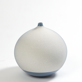 Pixelated Ball Vase-Blue, Medium