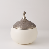 Teardrop Vase-Snow, Small