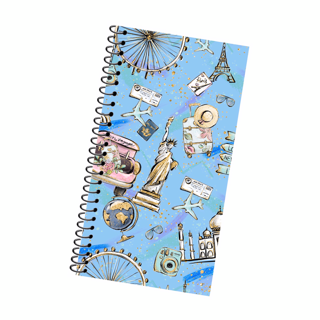 Reusable Sticker Album; Wanderlust