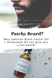 Hempseed and Jamaican Black Castor Oil to grow your beard