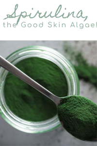 Spirulina, the good skin algae!
