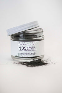 No. 35 Detoxify - Detox Activated Charcoal, Bentonite Clay and French Green Clay Mask